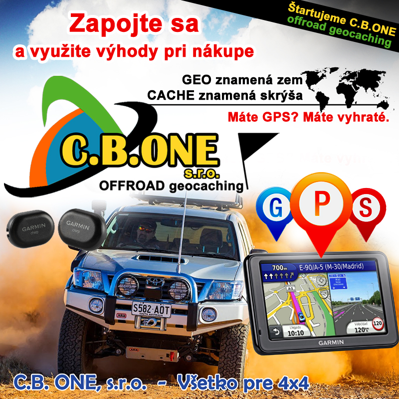 C.B.ONE s.r.o. OFFROAD geocaching