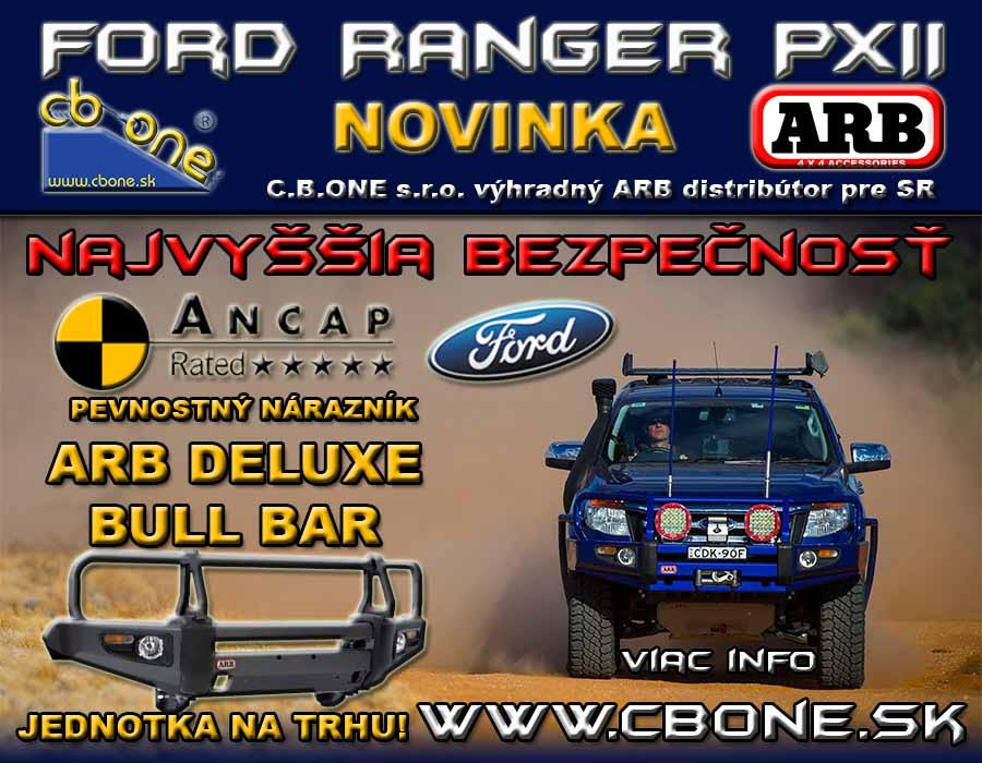 ANCAP approval 2015 Ford Ranger PXII