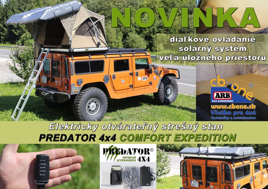 stresny  stan PREDATOR 4x4 COMFORT EXPEDITION